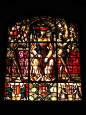 Segovia Alcazar Stained Glass Window