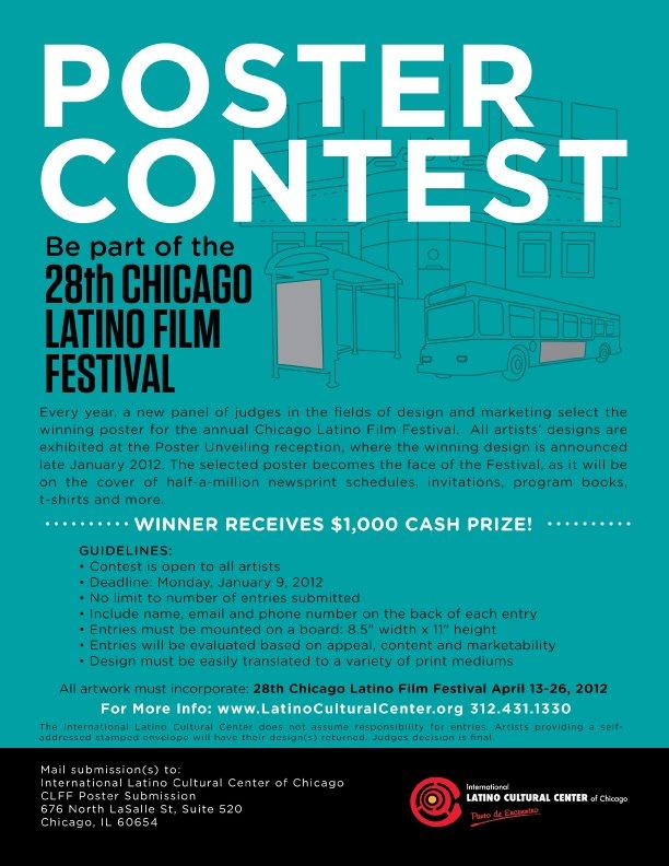 Chicago Latino Film Fest Poster Contest | Agatha Kubalski