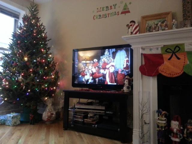 Watching White Christmas