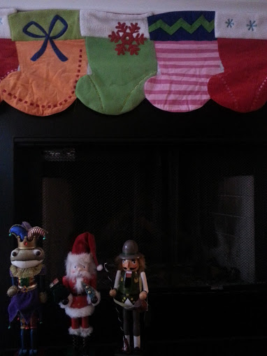 christmas stockings nutcrackers