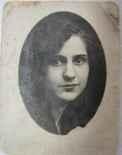 My mom's grandmother, Antonina, who everyone called Wanda