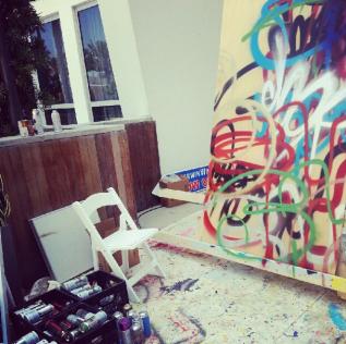Art in progress by Chor Boogie