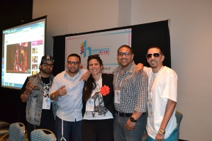 The experts of Latinmixx's DJ panel