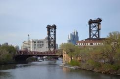 chicago river south side cermak