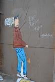 Street art along Cermak