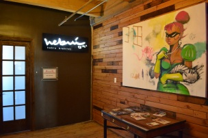 Hebru Brantley's studio