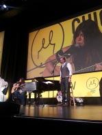 Rachael Yamagata and Ed Romanoff performing Duet