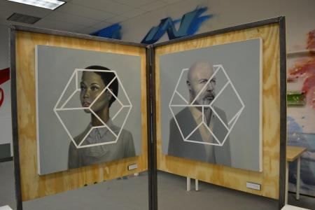 hex by adr adrian zavala pilsen open studios expo collective