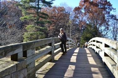 The bridge to LaSalle Canyon