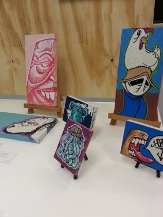 "Another Expo Collective artist, Jose ""Hozer"" Ramirez"
