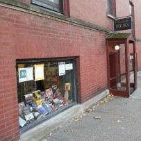 Entrance to 57th Street Books in Hyde Park