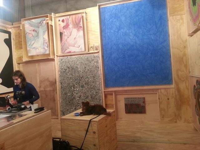 The Hole exhibition space at NADA