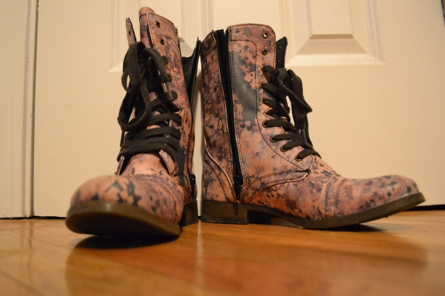 My new boots.