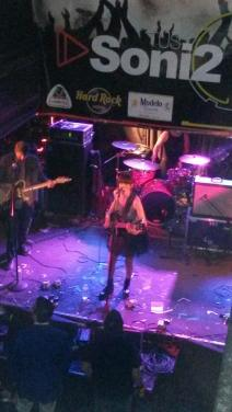 Heidi rocking the stage at Tus Soni2