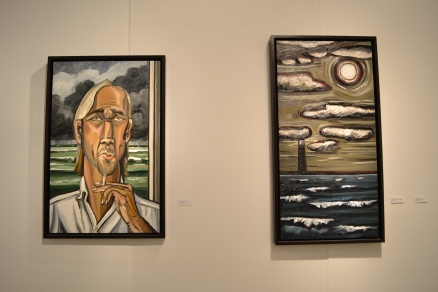 Paintings by David Bates