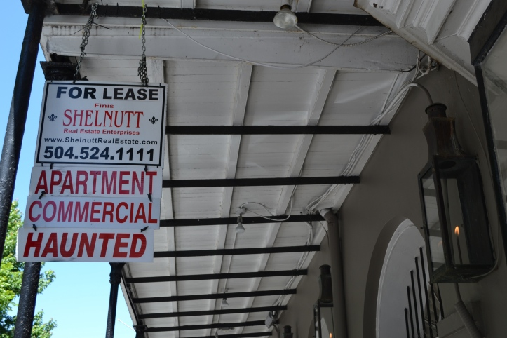 One of my favorite things about New Orleans is it's unique vibe. Things are just a bit supernatural...