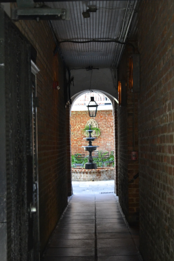 As you walk through the streets, peer through some of the gates to French Quarter homes - you'll see a whole world of hidden courtyards, filled with greenery and fountains.