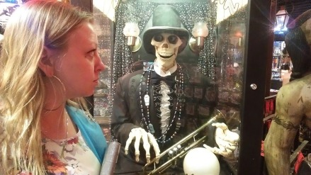 Things were getting creepy in New Orleans...