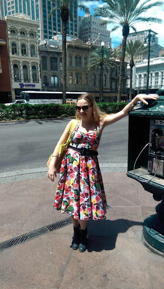 new orleans vintage dress