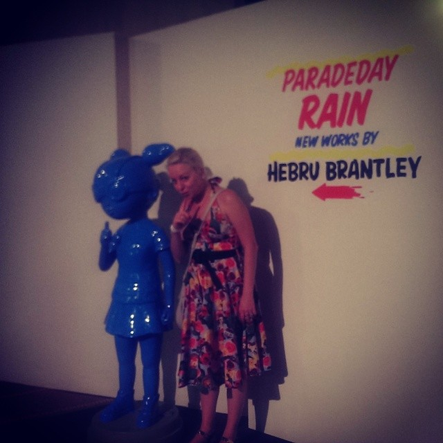 hebru brantley parade day rain chicago cultural center art exhibit