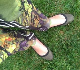 ootd safari pants bcbg shoes