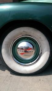 slow & low chicago lowrider community festival pilsen chicago urban art society cuas white wall vintage tire