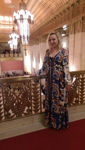 lyric opera chicago lang lang H&M dress floral gown ootd