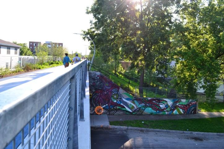chicago 606 trail urban street art graffiti