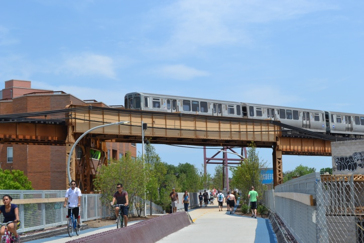 the 606 chicago train cta