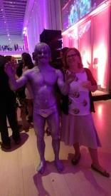 art institute modern wing evening associates night heist gala charles ray