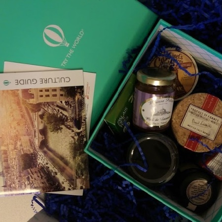 try the world exotic food subscription paris france box