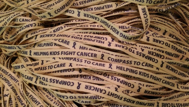 replace the lace compass to care childhood cancer awareness september