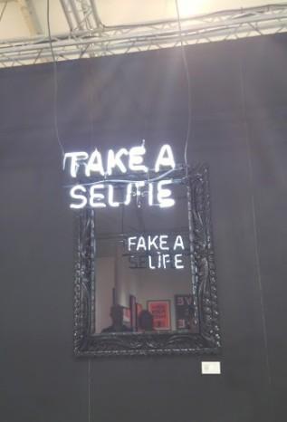 scope art fair miami beach art basel 2015 take a selfie mirror fake a life