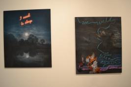"Friedrich Kunath ""I Need to Sleep"" and ""We Will Meet Again"" art basel miami beach 2015"