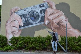 mural sarasota street art camera leica burns square historic district pineapple street