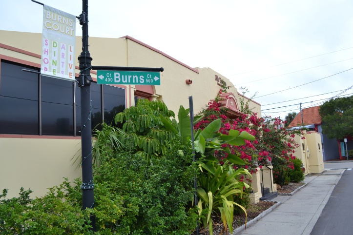 burns square historic district sarasota south florida burns court