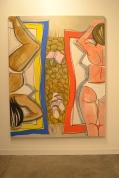 "Ella Kruglyanskaya, ""Beach Picnic with Potato Blanket"" art basel miami beach 2015"