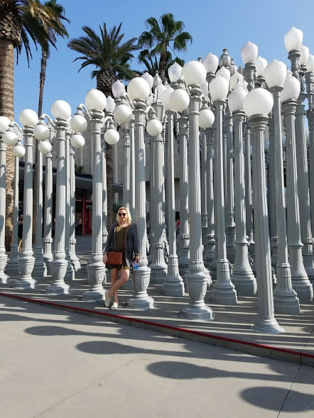 lacma lamp posts los angeles la