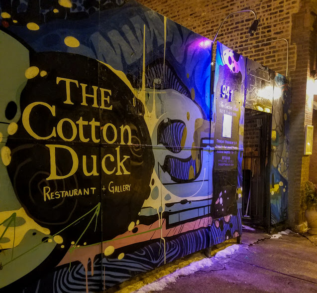 the cotton duck chicago