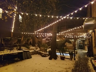 the cotton duck chicago courtyard