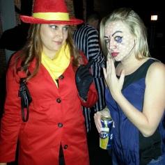pop art girl halloween makeup carmen sandiego