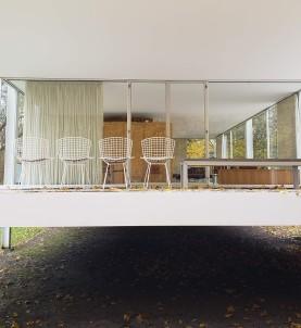 mies van der rohe farnsworth house plano illinois