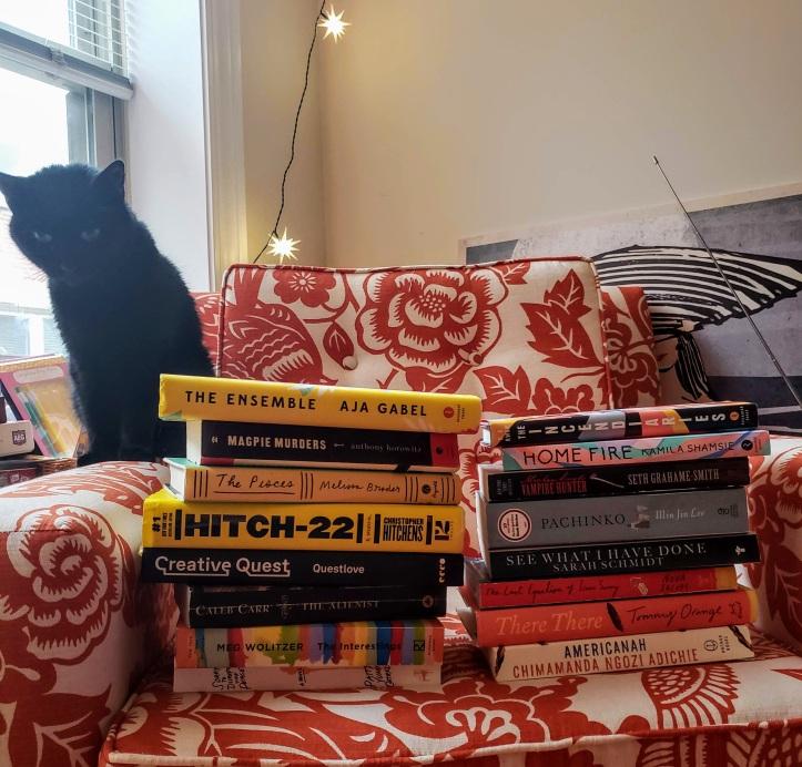 2018 reading challenge books cat